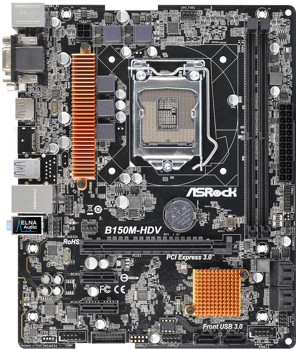 ASRock B150M-HDV X64 Driver Download
