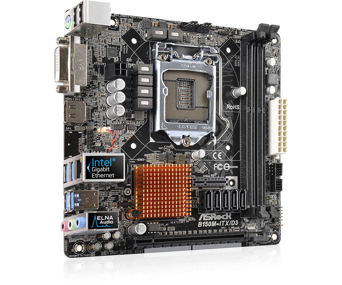 ASRock B150M-ITX/D3 Realtek Audio Driver for Windows 7