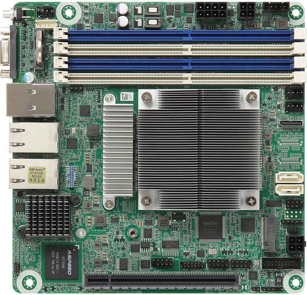 Asrock EPYC3251D4I-2T - Motherboard Specifications On