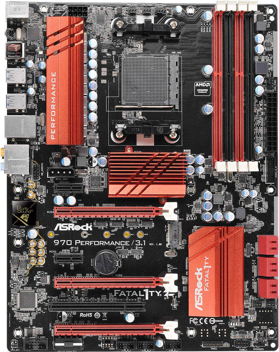 Driver for ASRock Fatal1ty 970 Performance