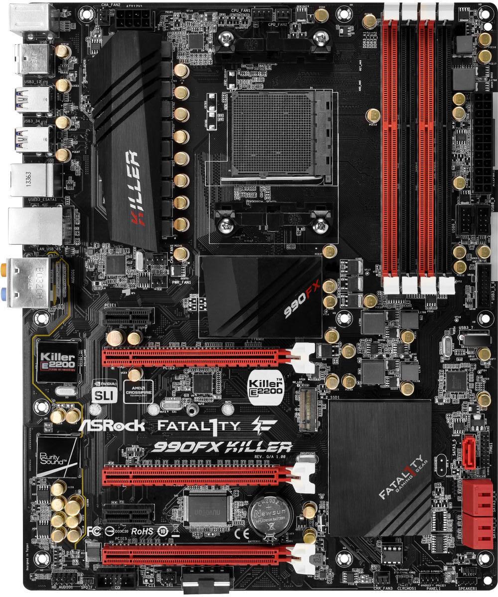 Asrock Fatal1ty 990FX Killer - Motherboard Specifications On