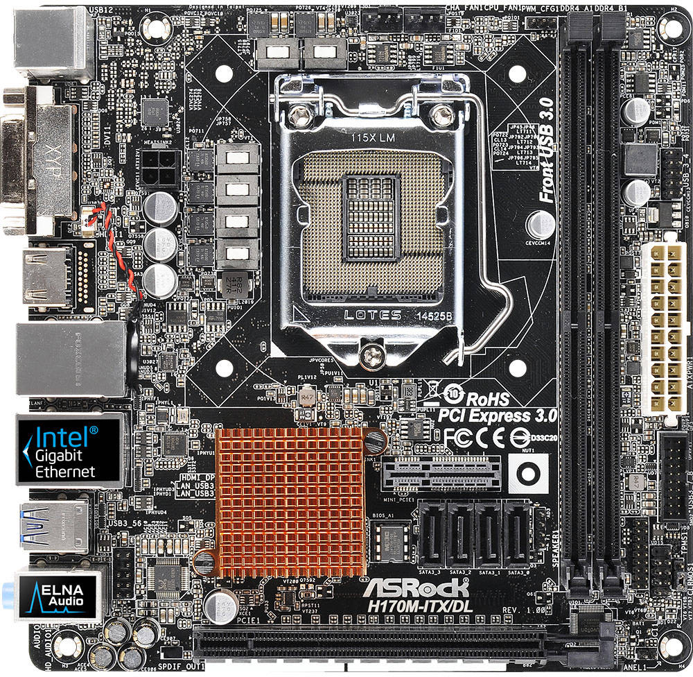 ASRock H170M-ITX/DL Realtek LAN Driver Download