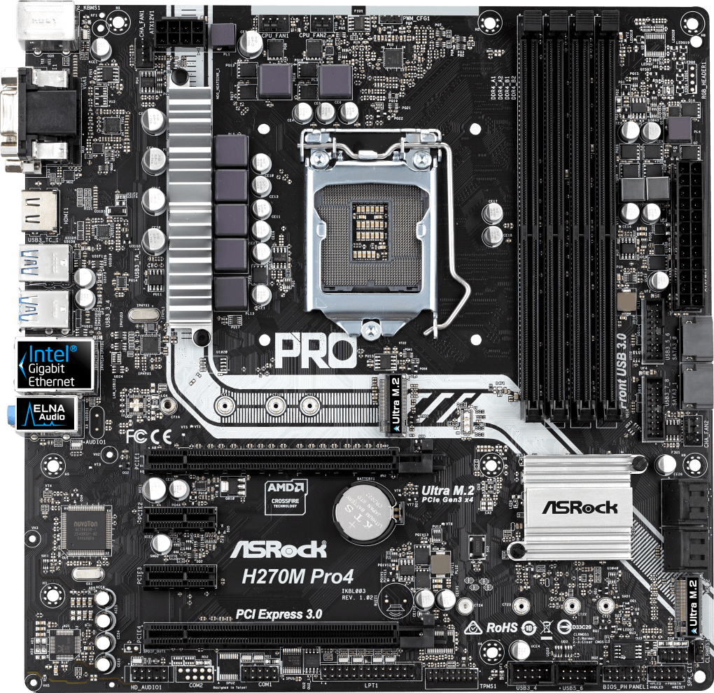 ASROCK H270M PRO4 MOTHERBOARD WINDOWS 7 X64 TREIBER