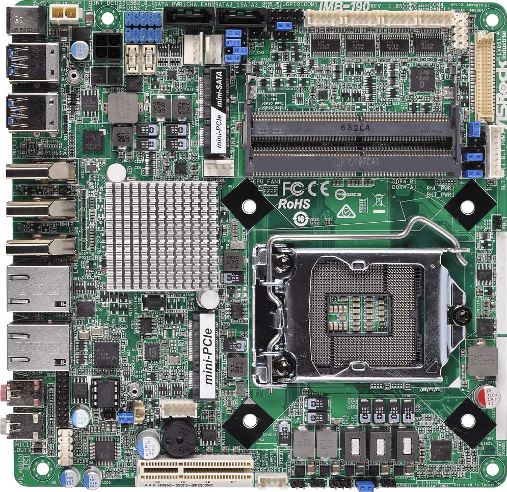 ASRock IMB-190-E Intel LAN Download Drivers