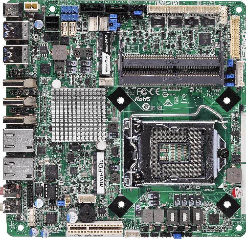 Drivers for ASRock IMB-190 Intel LAN