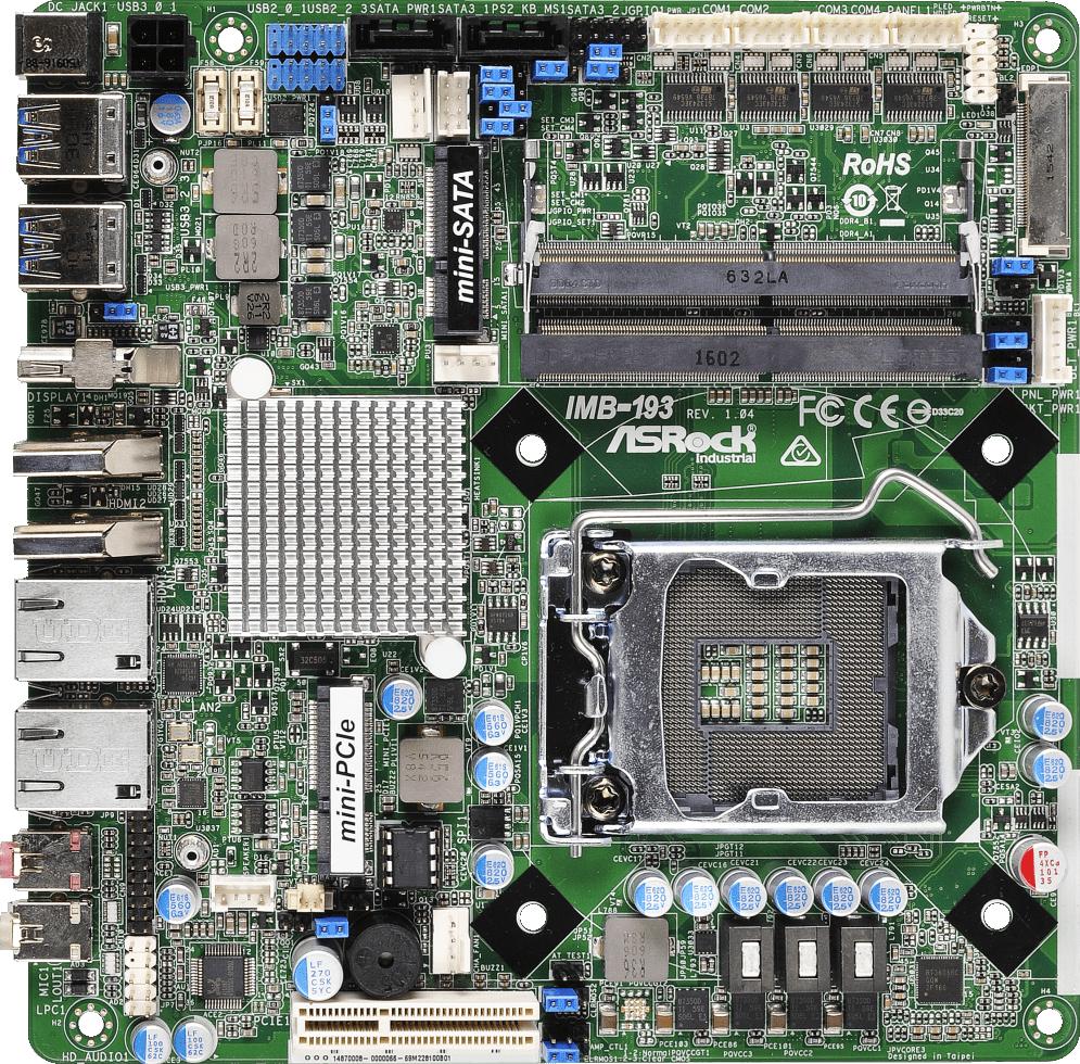 ASRock IMB-193 Intel LAN Windows 8 X64 Treiber