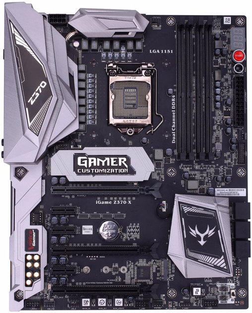 Colorful iGame Z370 Vulcan X - Motherboard Specifications On MotherboardDB