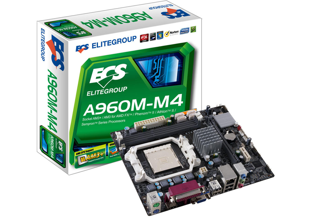 ECS A960M-M4 AMD Graphics Driver for Windows Download