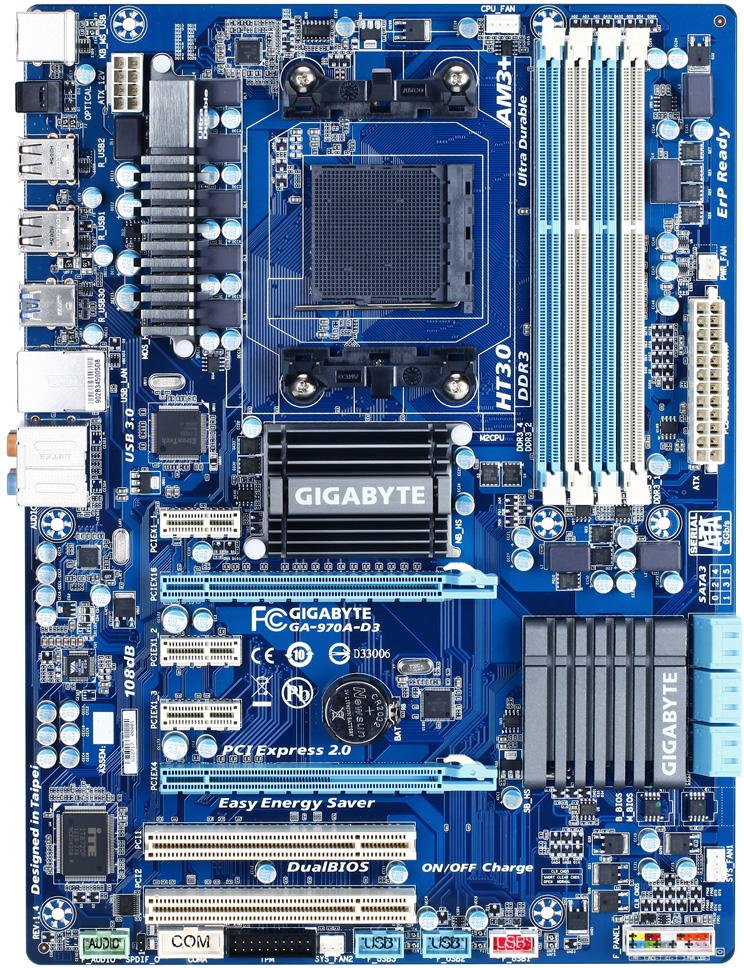 Gigabyte Ga-970a-d3 Rev  1 4