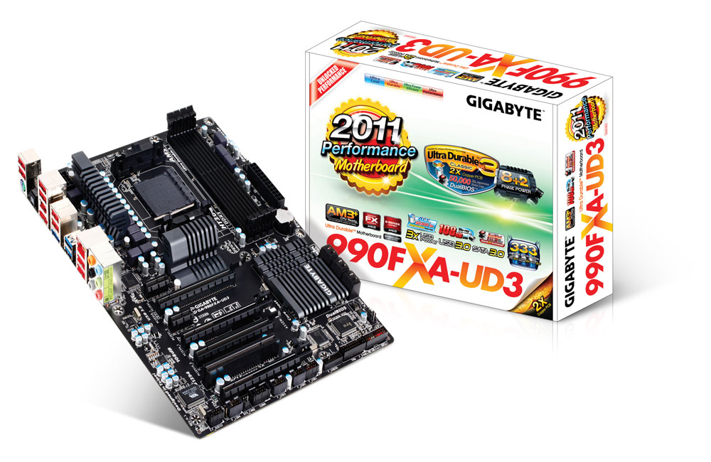 Gigabyte GA-990FXA-UD3 (rev. 4.1) Drivers Download