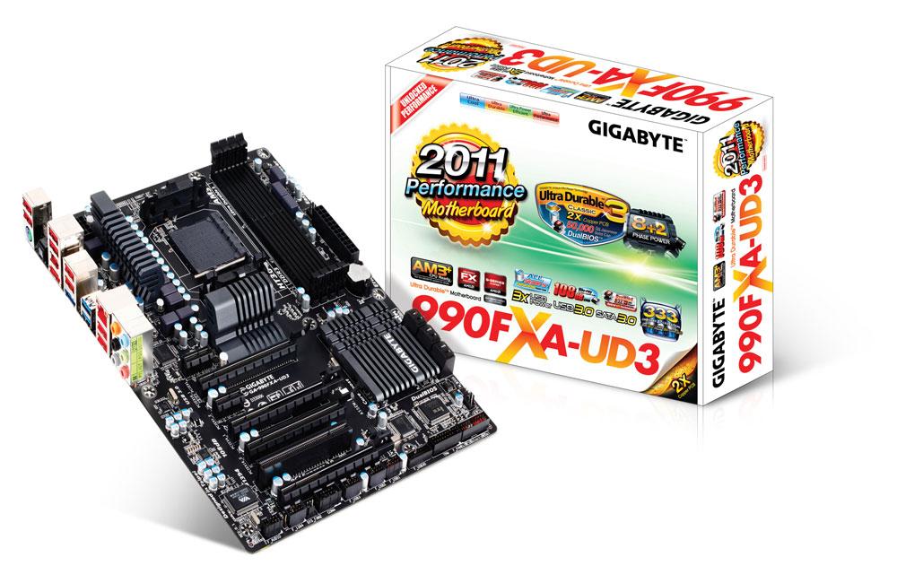 Gigabyte GA-990FXA-UD3 Rev. 1.0 - Motherboard Specifications On