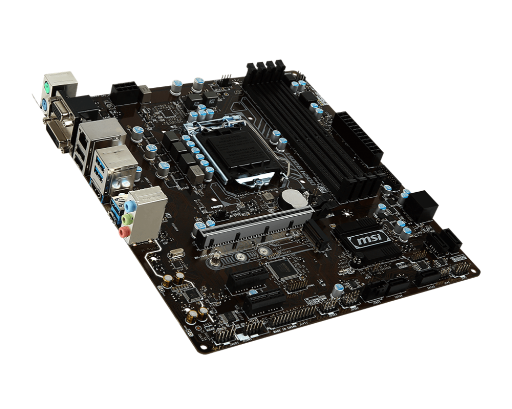 MSI B250M Pro-VDH - Motherboard Specifications On MotherboardDB