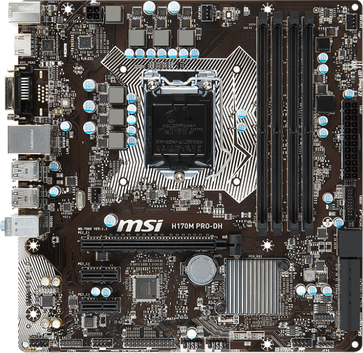 MSI H170M PRO-DH Driver